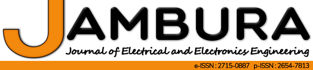 Jambura Journal of Electrical and Electronics Engineering